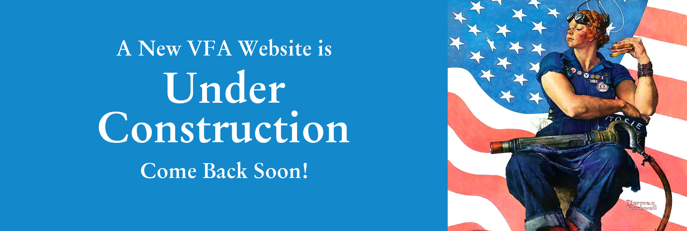 A New VFA Website is Under Construction