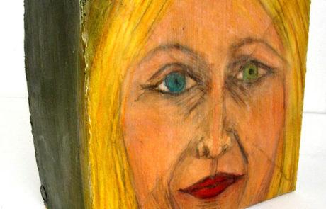 Suzanne Benton Block Painting