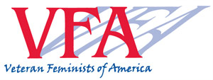 Veteran Feminists of America Logo