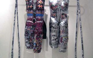 Linda Stein - Coat Rack Installation