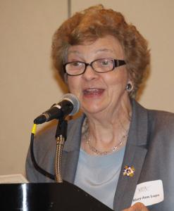 Co-chair Mary-Ann Lupa