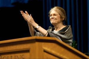Gloria Steinem Applauds