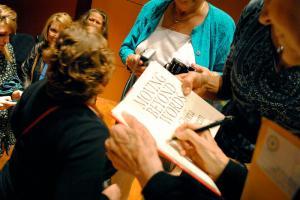 Gloria Steinem Book Signing
