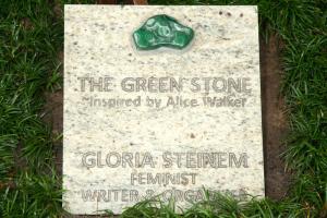 Gloria Steinem - Green Stone Ceremony