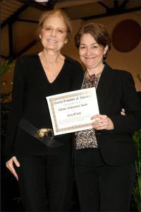 Gloria Steinem & Terry O'Neill