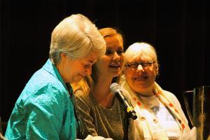 Heather Booth, Emily Higgins, & Zoe Nicholson