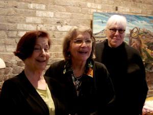 Jacqui Ceballos, Barbara Seaman and Zoe Nicholson
