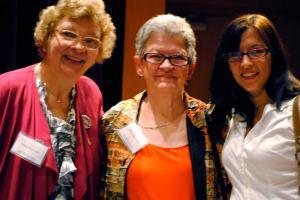Mary Ann Lupa, Mary Jean Collins & Leah Zaguroli