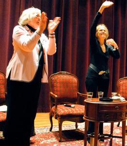 Pat Schroeder & Gloria Steinem