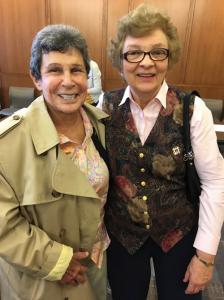 President Eleanor Pam & Mary Ann Lupa