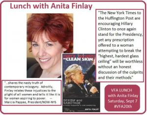 Lunch with Anita Finlay Announcement