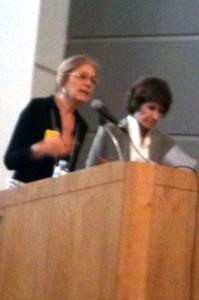 Gloria Steinem and Sheila Tobias