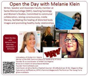 Melanie Klein Announcement